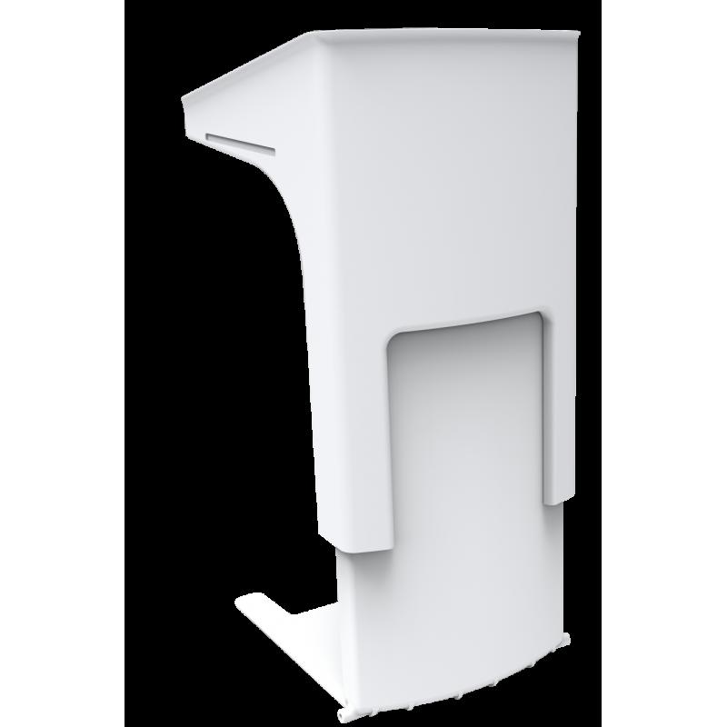 Hochwertiges Rednerpult höhenverstellbar, Rollstulfahrer geeignet, barrierefrei
